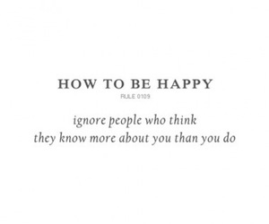 quotes, happy, and people image