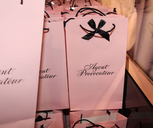 agent provocateur, bag, and shopping image
