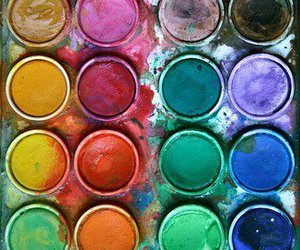art, paint, and colour image