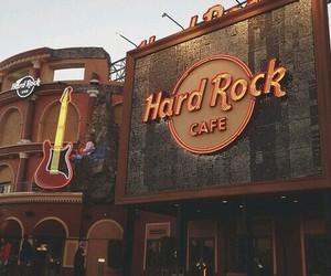 cafe, hard rock, and hard rock cafe image