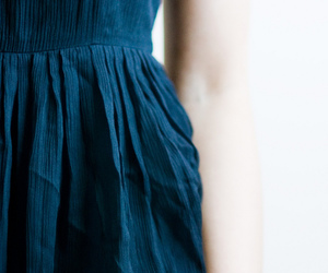 blue, dress, and style image