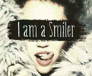 miley cyrus, smiler, and forever image