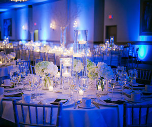 wedding, candles, and wedding reception image
