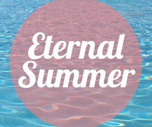 summer, eternal, and sea image