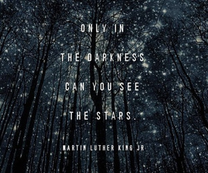 quotes, stars, and Darkness image