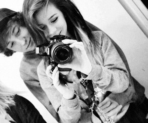 couples, smile, and love image