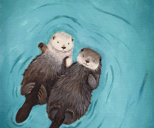 otters and sea otters image