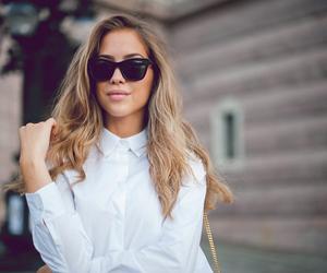 fashion, model, and sunglasses image