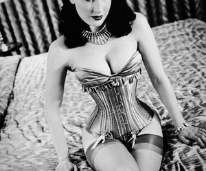 corpet, Marilyn Manson, and corselet image