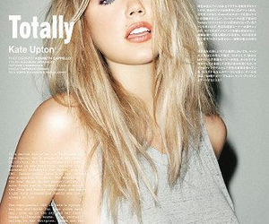 blonde, cover, and kate upton image