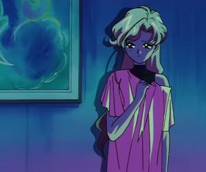 sailor moon, anime, and fish eye image