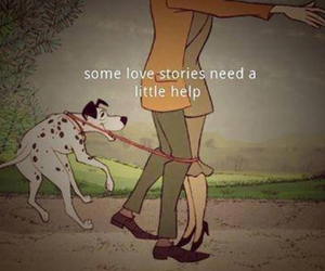 love, help, and dog image