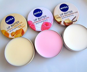 nivea, lips, and lip butter image