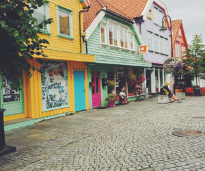 colour, street, and stavanger image
