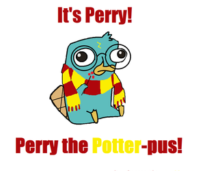 perry and harry potter image