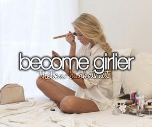 girl, girly, and make up image