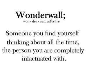 wonderwall and love image