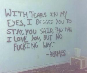 art, crying, and eyes image