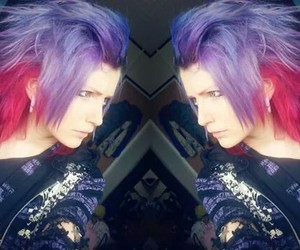 colorful, hair, and hair style image