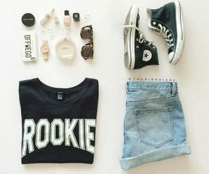fashion, clothes, and converse image