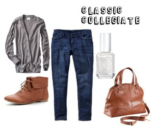 college, cute clothes, and fashion image