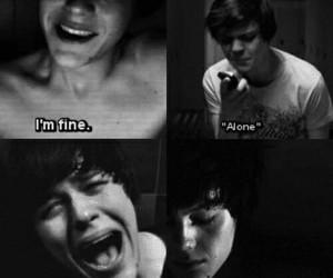 alone, suicide room, and sad image