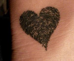 tattoo, heart, and love image