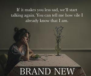 brand new, Lyrics, and flowers image