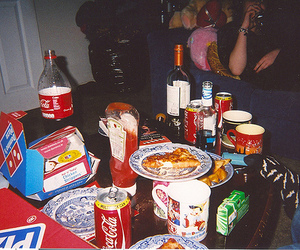 food, party, and pizza image