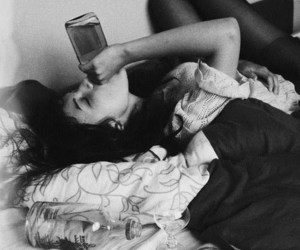 bed, drink, and life image