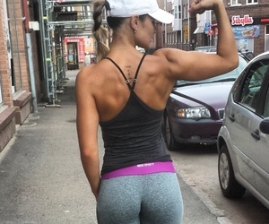 fit, body, and fitness image