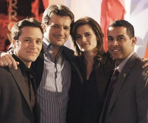 castle, the crew, and beckett team image
