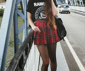 ramones, grunge, and outfit image