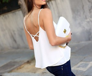 girl, bag, and fashion image