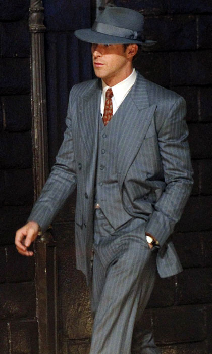 this vintage three piece gray suit has been taken from the super hit