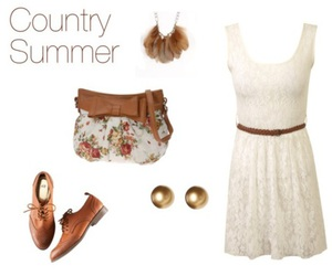 brown, country, and cute clothes image