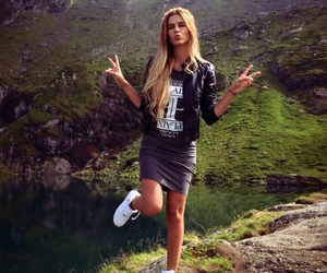 adventure, peace, and blonde image