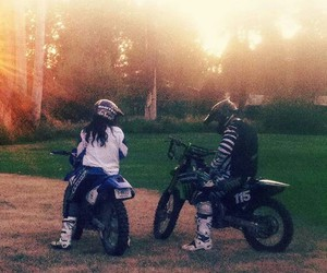 boyfriend, kawasaki, and motocross image