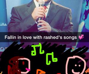 song, راشد الماجد, and love image