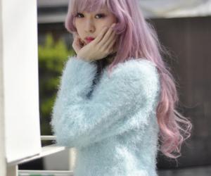 asian and hair image