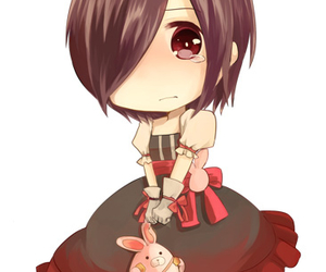 anime, bunny, and chibi image