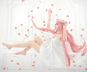 cosplay, vocaloid, and megurine luka image