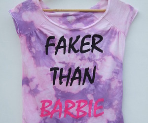 barbie, grunge, and shirt image