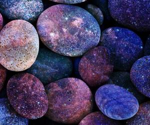 galaxy, stone, and purple image