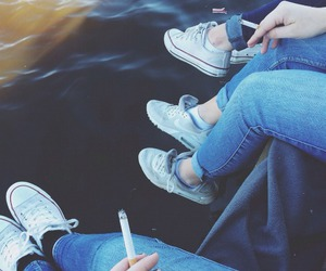 cigarette, free, and grunge image
