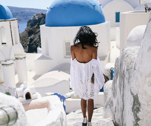 Greece, girl, and summer image