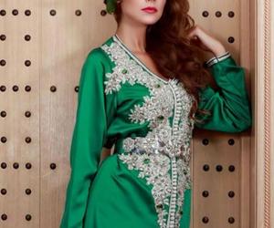 caftan, Vert, and maroc image