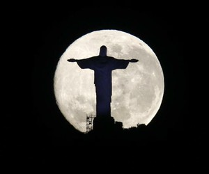 brazil, full moon, and month image