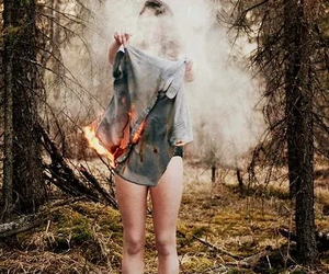 burn, grunge, and sun image