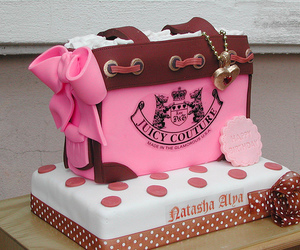cake, juicy couture, and pink image